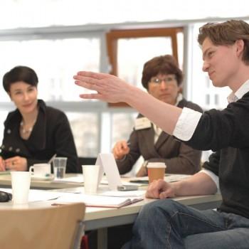 Diskussion im Workshop »Geschichte ist nicht Schnee von gestern – Über das Populäre«