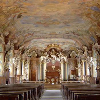 Einer von zehn Reisetipps in Niederschlesien: die Aula Leopoldina an der Breslauer Universität. (c) Schlesisches Museum zu Görltiz