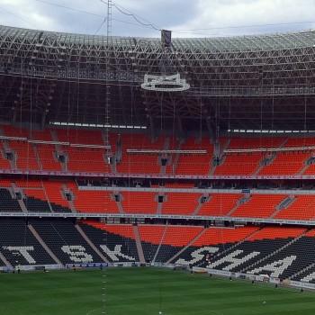 Ein Schmuckstück: das Stadion in Donezk ein Jahr vor der EM 2012.