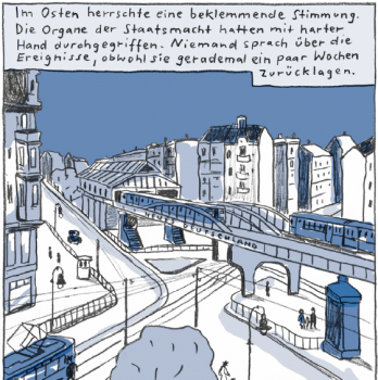 Ausschnitt aus dem Comic