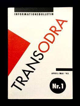 Erstausgabe des Transodra Magazins (1993).