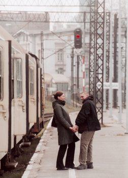 """Das Theaterstück """"Romeo und Julia auf dem Bahnhof"""" entwickeln die Jugendlichen selbst nach der berühmten Vorlage."""