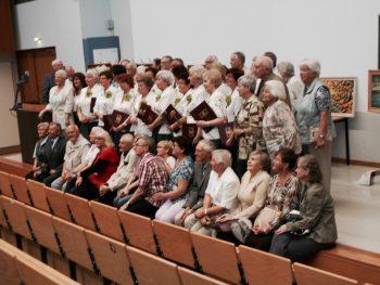 Mitglieder der Seniorenakademie bei einem Treffen mit der polnischen Partnerinitiative Universität des Dritten Lebensalters Gorzow im Mai 2016 (Foto: Carla Skobjin)