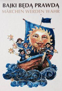"""Ein """"Märchen wird wahr"""" als die Kinder nach Brüssel fahren und den EU-Beitritt Polens feiern."""