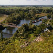 Flusslandschaft im Unteren Odertal