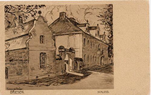 Schloss Driesen (heute Drezdenko)
