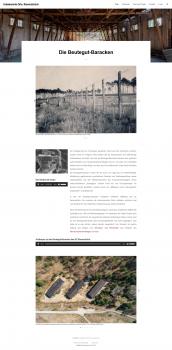 Screenshot der Webseite unbekanntes-ravensbrueck.de